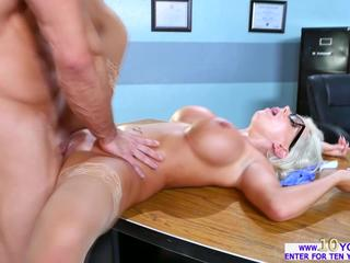 Slutty big assed Savannah Stevens sucks and fucks a big cock