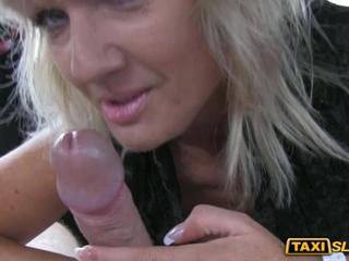 Amateur babe Harley fucked and jizzed on by a pervert driver