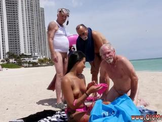 Old mom big tits and no dont do it old man Staycation with a Latin
