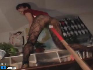 Japanese wife has rough bondage sex in pantyhose - More at Elitejavhd.com