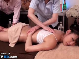 Japanese innocent 18yo massage turned in sex - More at Elitejavhd.com