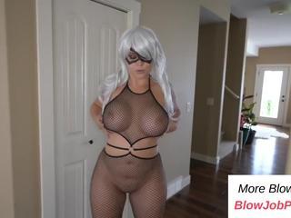 PART 1: Big booty girlfriend sucks my cock - Watch Part2 on BlowJobPlus.com