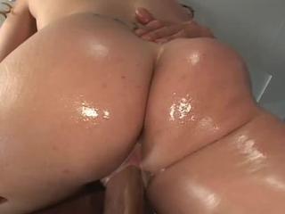 Hot Brunette Chick Fucks Thick Rod