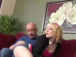 Proxy Paige Stuffs Rod In Snug Cunt