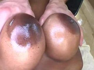 Black pornstar Nyomi Banxxx fucking