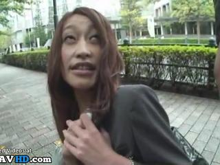 Japanese office lady gives blowjob in boss car - More at Elitejavhd.com