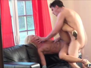 Hot girlfriend Cali Carter rides cock and gets fucked in all positions