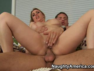 Hot milf fucks and gets cum on her beautiful face