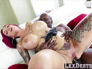 Busty and cute Anna Bell Peaks gets hammered hard by Lexington Steele