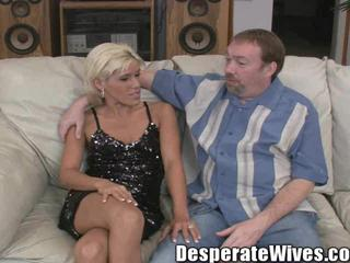 Hottie Sensual Desperate Wife Fucking