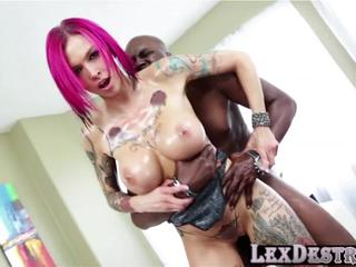 Redhead and slutty Anna Bell Peaks gets destroyed by Lexington