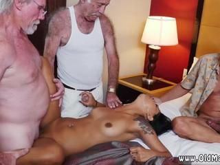 Horny old daddy Staycation with a Latin Hottie