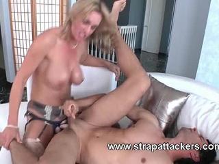 Femdom anal intercourse