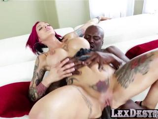 Redhead and petite Anna Bell Peaks gets hammered by Lexington