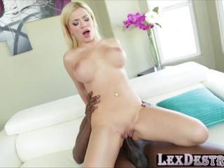 Beautiful blonde Bibi Noel gets destroyed by Lexington Steeles bbc