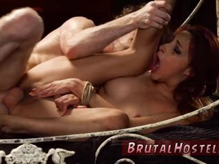 Bondage music compilation and woman first time Poor little Jade
