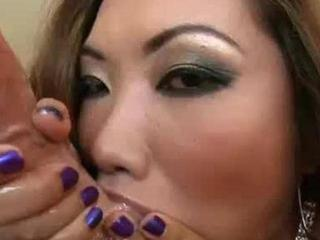 Asian cock licker works
