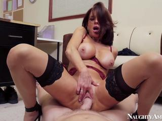 Veronica Avluv enjoying a hot ride on a hard cock