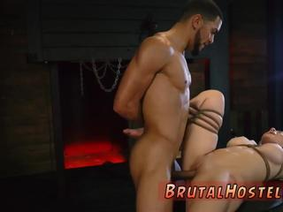 Solo brutal anal dildo first time Big-breasted blondie ultra-cutie