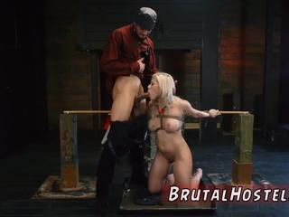 Teen slave rough Big-breasted towheaded cutie Cristi Ann is on