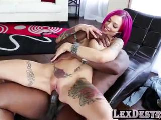 Redhead deepthroater Anna Bell Peaks gets destroyed by Lexington