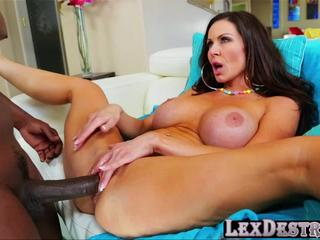 Busty and slutty Kendra Lust gets destroyed by Lexington Steele