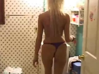 Beautiful blonde MILF loves to fuck