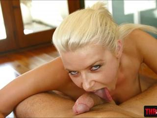 Voluptuous Anikka Albrite nasty facefuck