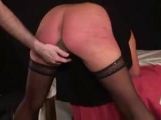 German BDSM and spanking with slave Heidi