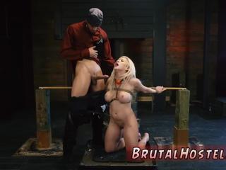 Webcam bdsm and king fucks slave first time Big-breasted blondie