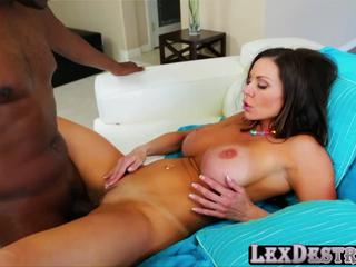 Voluptuous and horny Kendra Lust gets banged by Lexington Steele
