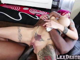 Huge jugs red head Anna Bell Peaks gets hammered by Lexington