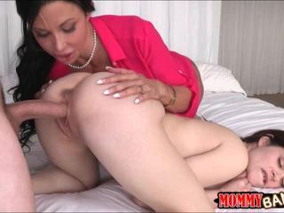 Jenna Ross sharing cock with busty stepmom Jewels Jade