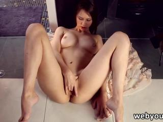 Beauty Jessie Volt in a hot threesome
