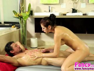 Beautiful and sexy Nikki Knightly gets her pussy hammered by Tommy