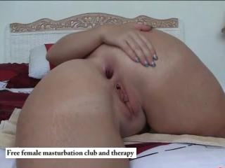 Anal solo fat ass Housewife Sally