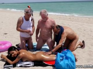 Old man sucks young Staycation with a Latin Hottie