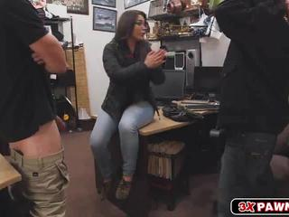 Latina babe sucks a cock instead of going to jail!