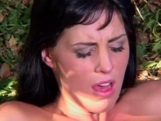 Ravishing Brunette Girl Sucks Dick & Nails Cock