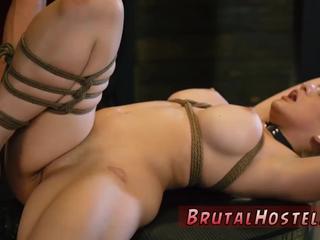Teen strapon anal threesome Big-breasted blond ultra-cutie Cristi Ann