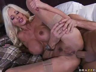 XXX Blonde Milf Puma Swede Crams Dick In Vag And Bum-Hole