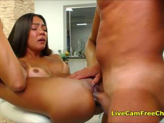 Flexible Girl Pussy turns so Creamy Fucking Like This
